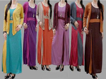 Model Baju Gamis Terbaru Menjelang Hari Raya Idul Fitri