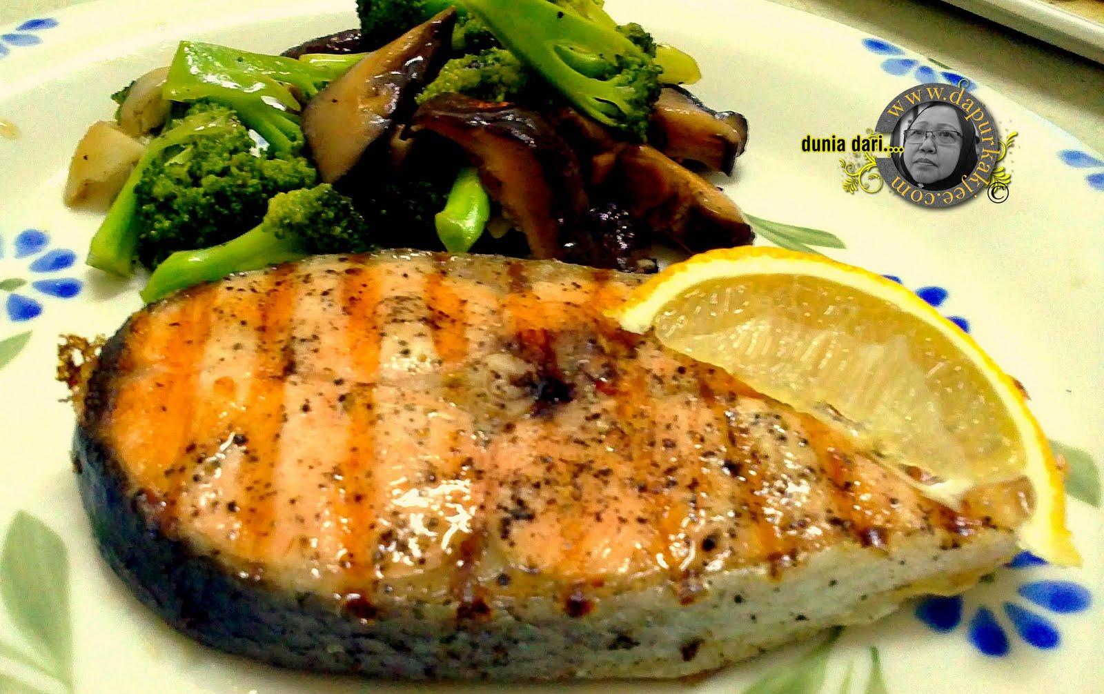 cara memasak ikan salmon free image
