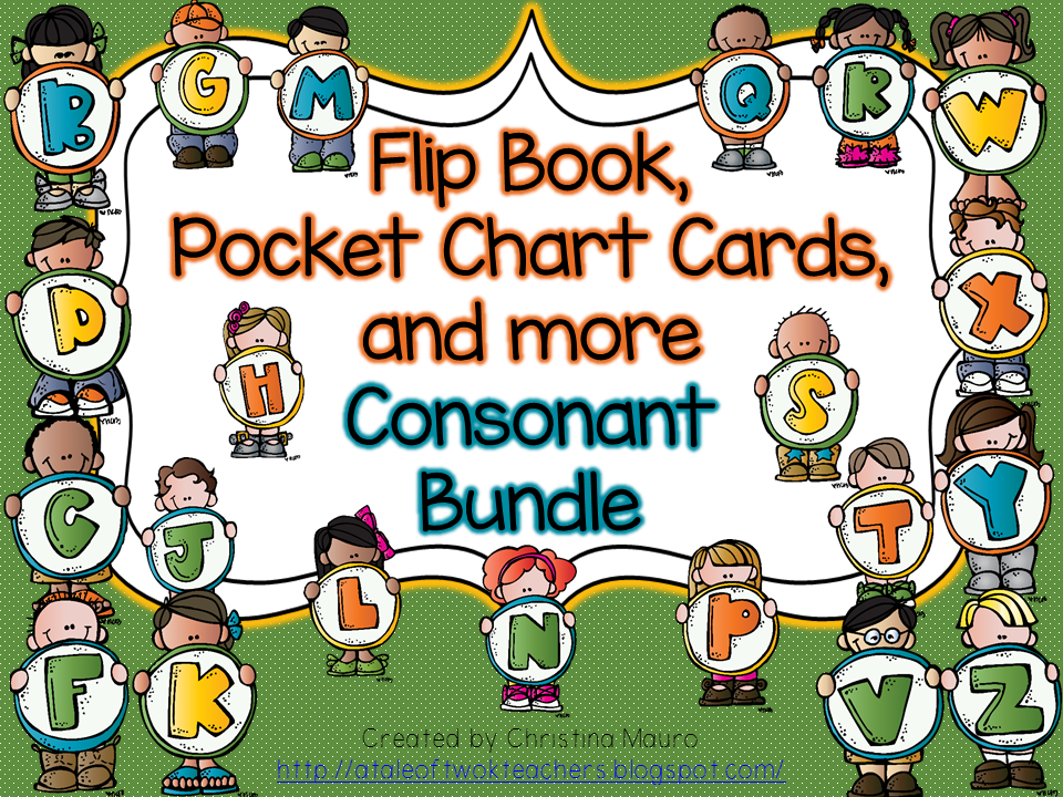 http://www.teacherspayteachers.com/Product/Flip-Book-Pocket-Chart-Cards-and-more-Consonant-Bundle-758961