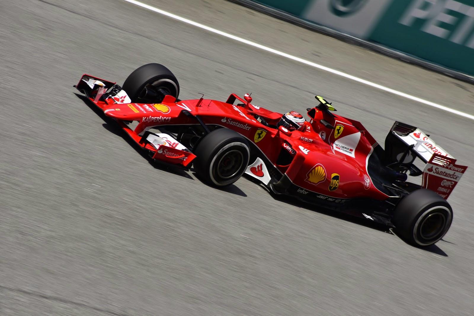 Kimi Raikkonen in Motorsport Event in Malaysia