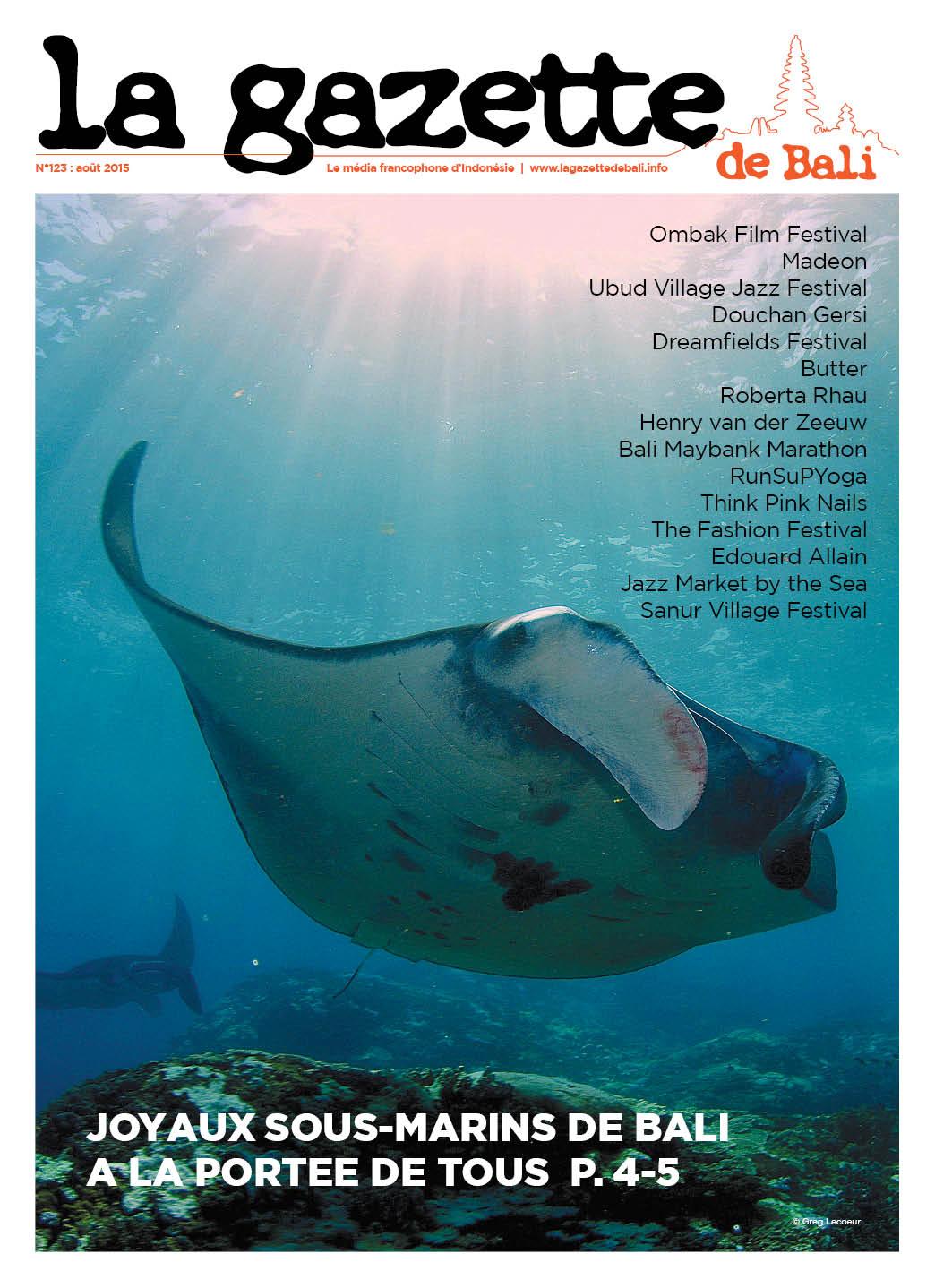 La Gazette de Bali août 2015