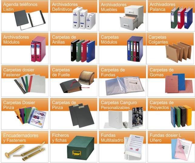 venta de material de oficina: