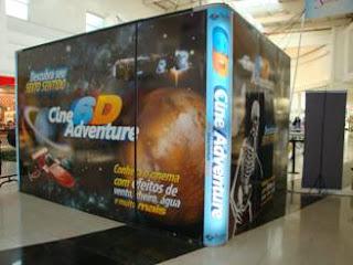 Cinema 6D no Shopping Grande Rio