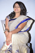 Actress Tanusha Photos in Saree at Present Love Audio-thumbnail-17