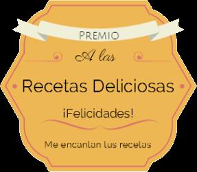 Premio Recetas Deliciosas