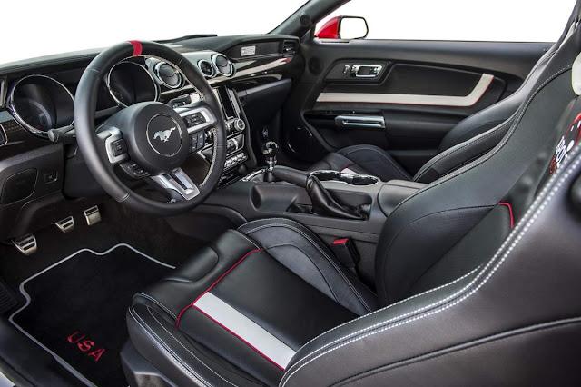 Novo Ford Mustang 2016 - interior