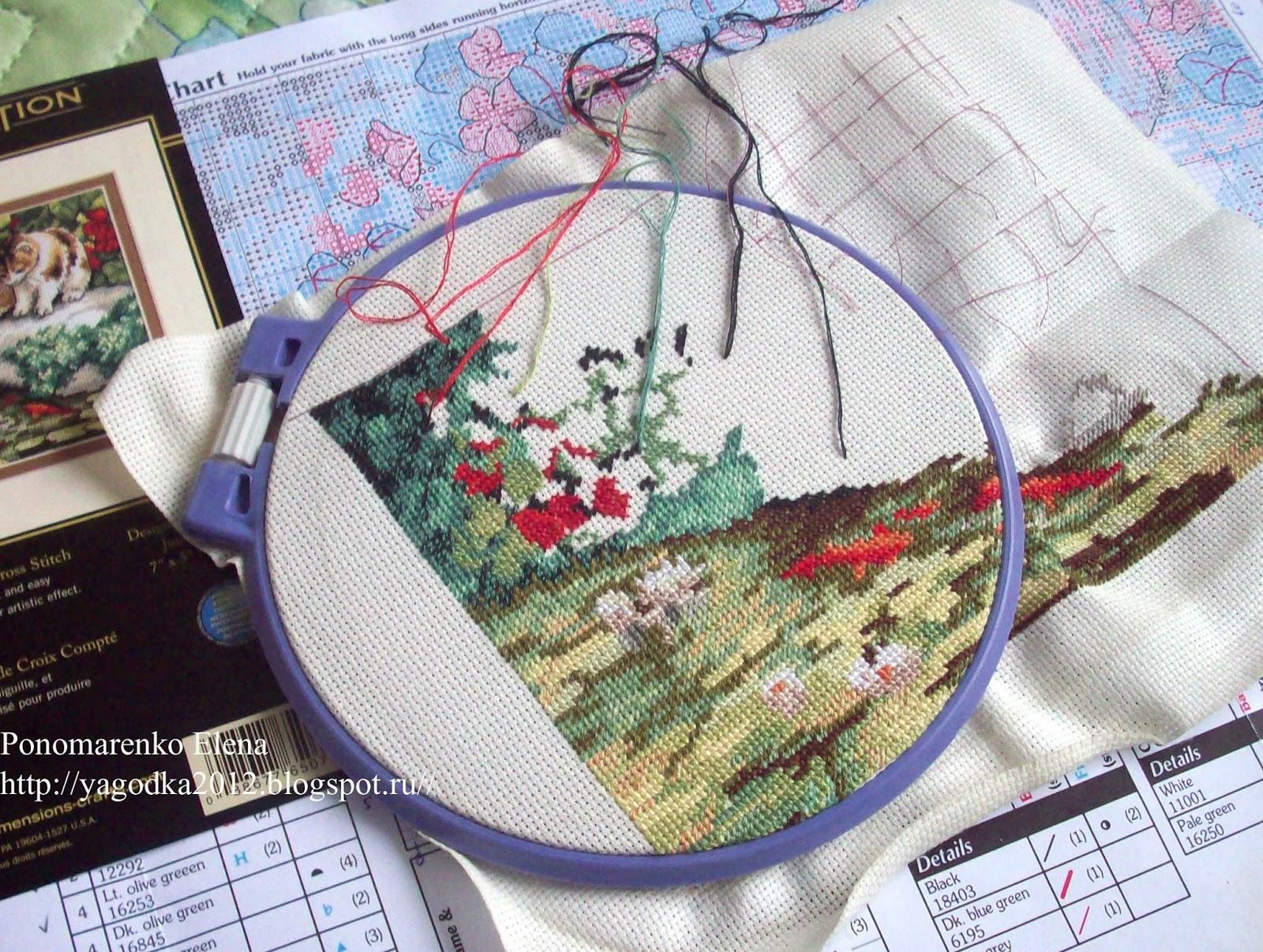 Большая статья о вышивке редворк (Redwork). Блог «М.П. Студии» 96