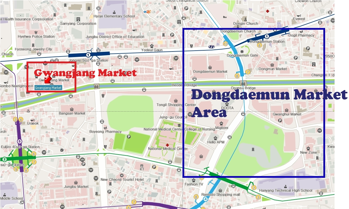 HIKED Seoul travel guideGwangjang Market