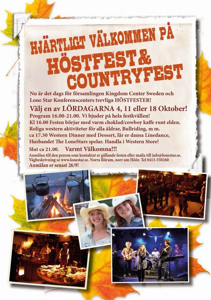 #‎LoneStar‬ ‪#‎LoneStarHöör‬ ‪#‎LonestarHoor‬ ‪#‎Höör‬ ‪#‎Countryfest‬ ‪#‎Höstfest‬ ‪#‎AutumParty‬ ‪#‎Church‬ ‪#‎Vänner‬ ‪#‎Friends‬ ‪#‎Linedance‬ ‪#‎KastaYxa‬ ‪#‎GodMat,