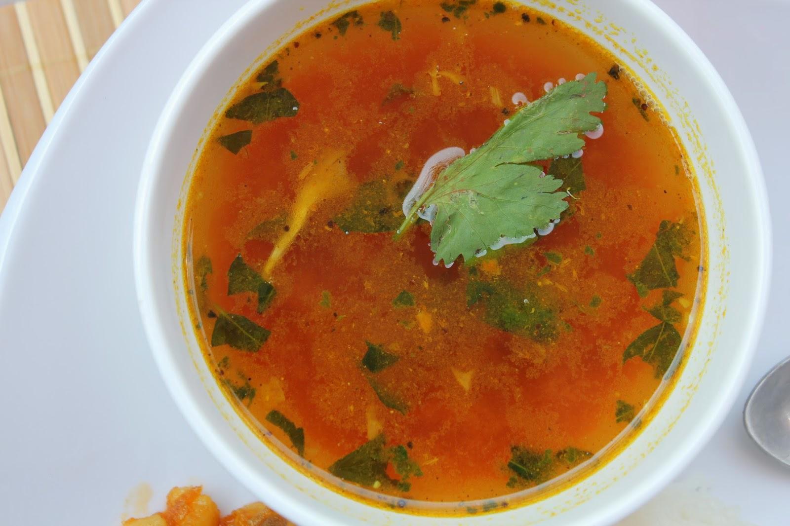 instant tomato rasam