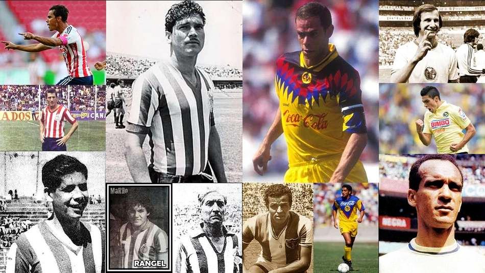 Estos son los jugadores que han inscrito con goles sus nombres en la historia del Clásico entre América y Guadalajara.