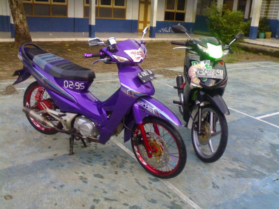modifikasi honda supra fit 2007