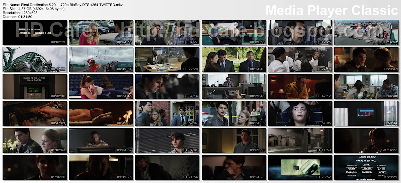 Final Destination 5 2011 video thumbnails
