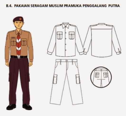 Grosir Baju Seragam Pramuka Model Terbaru Murah
