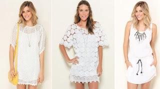 vestido de renda branco para o ano novo no litoral
