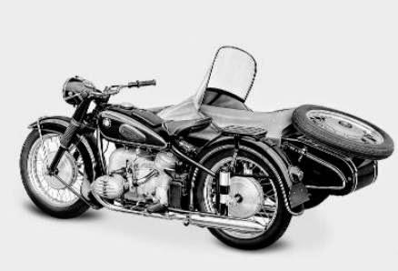 Gambar BMW R67 1955-1956