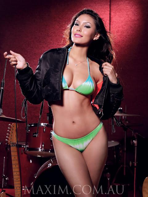 Luany Ayumi » Maxim » Luany Ayumi Model Maxim Magazine Indonesia
