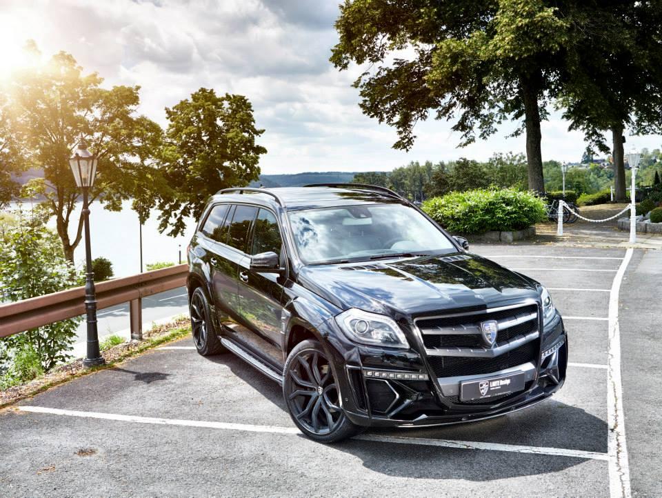 Larte Design S Mercedes Benz Gl Black Crystal Ready For