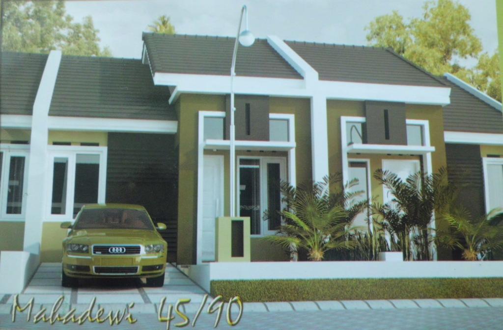 Desain Rumah Minimalis Type 45 Terbaik