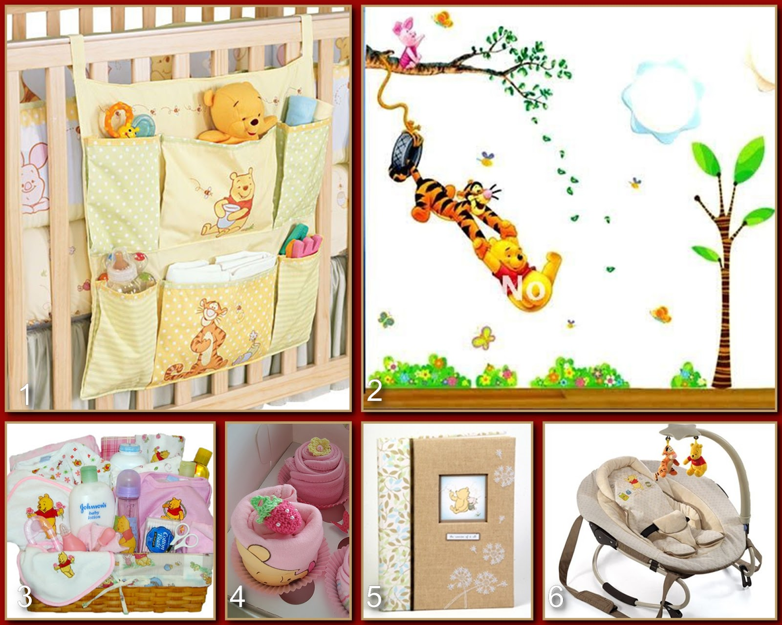 Disney Donna Kay Magical Blogorail Pooh Baby Shower
