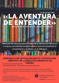 """Club de Lectura de Ciencia """"La aventura de entender"""""""