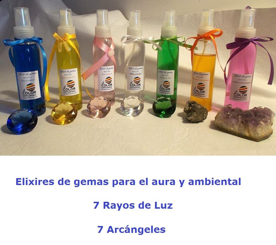 Elixir de gemas para el aura 7 Rayos