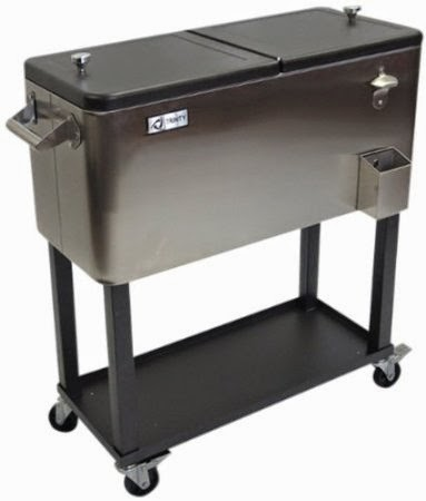 Stainless Steel Patio Cooler