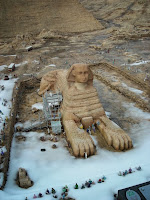 Neve sulla Sfinge: sempre più enigmatica
