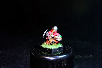 Dorso del Enano de los Bugman's Dwarf Rangers