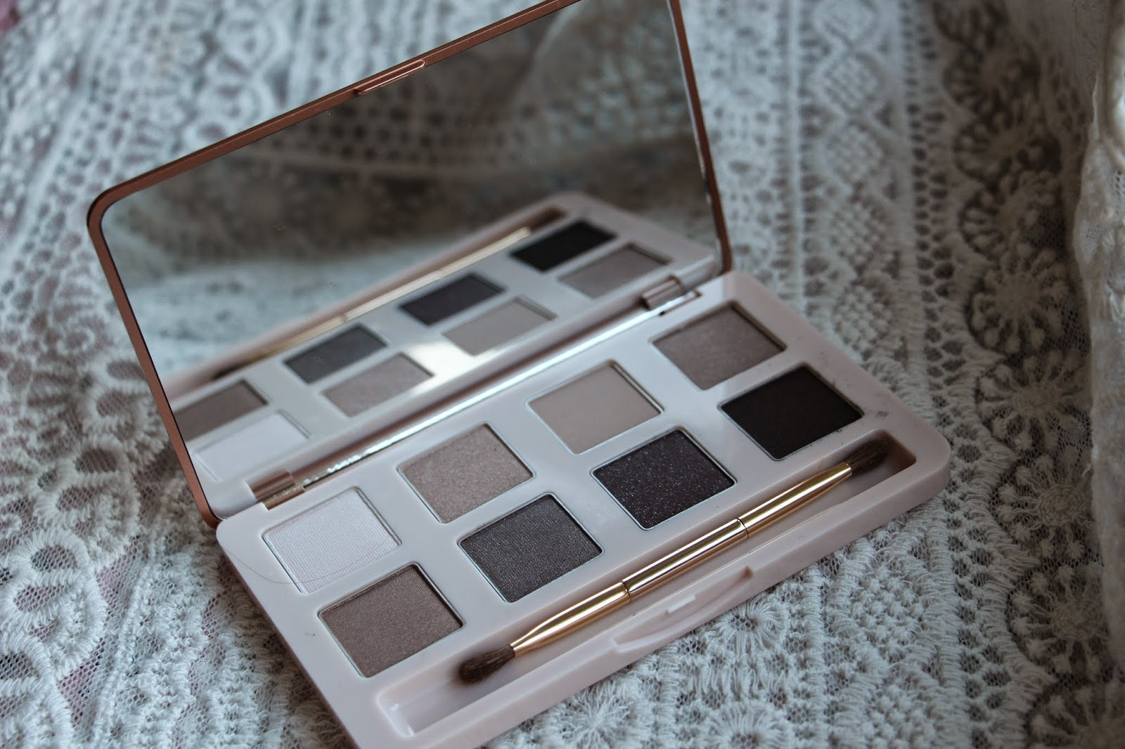 No7 Mini Eyeshadow Palette Swatches