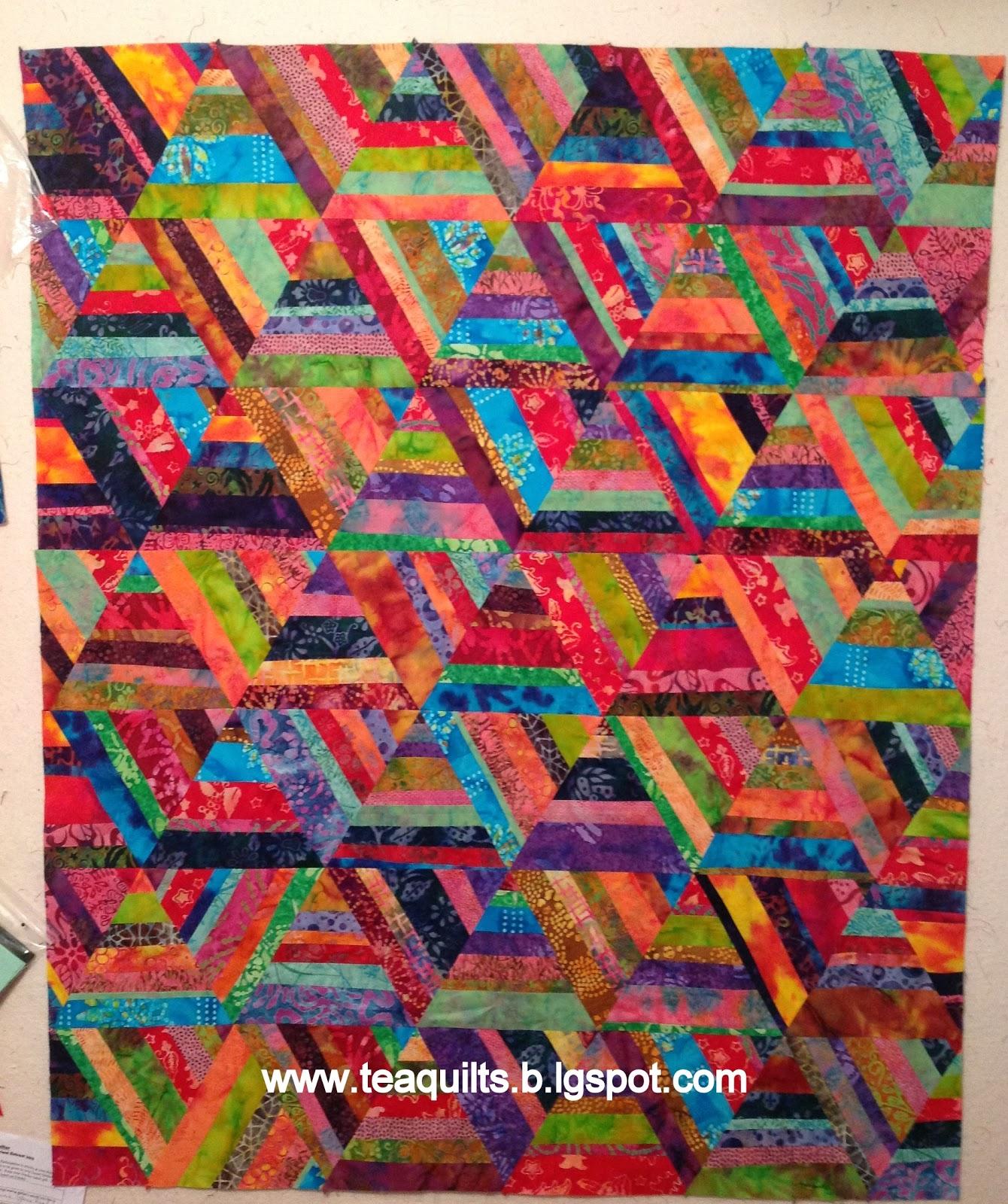 Teaquilts scrap quilting club for Scrap quilt