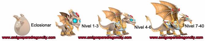 imagen del crecimiento del dragon elfico