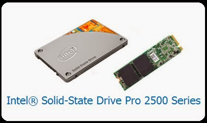 Intel Merilis SSD Pro 2500 Series