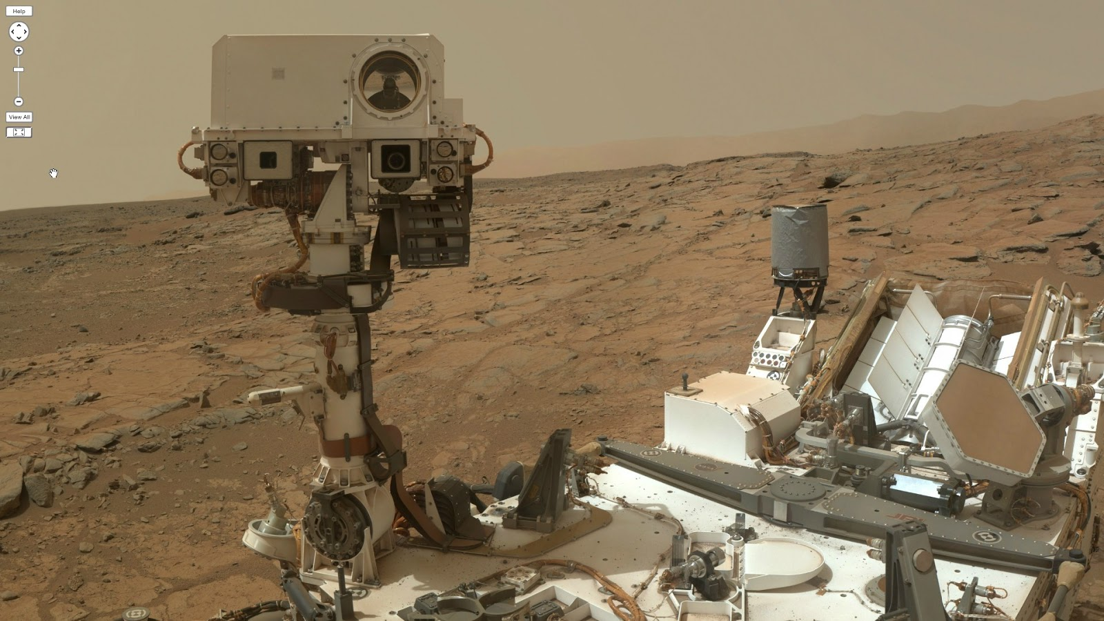 Is this the most awesome selfie ever  And it s on Mars   Mars Curiosity Selfie