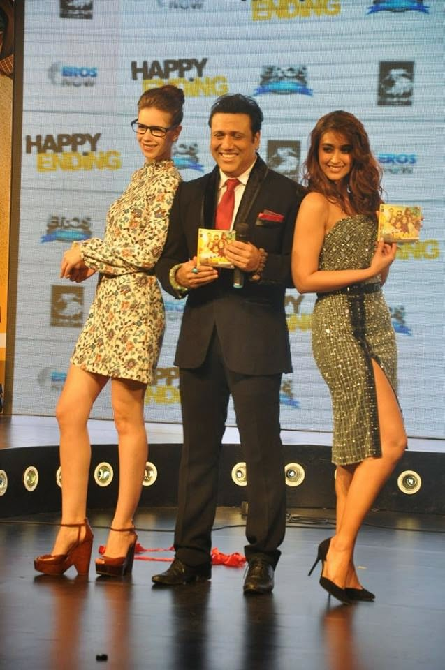 Saif ali khan, Kalki, Ileana and Govinda launch the music of Happy Ending