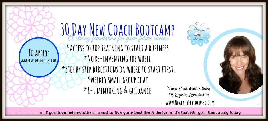 30 Day Bootcamp, Beachbody Coaching, Dreams, goals,  Financial freedom, Julie Little, Healthy Fit Focused