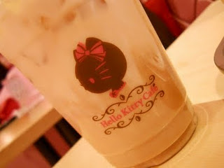 Hello Kitty cafe coffee cup