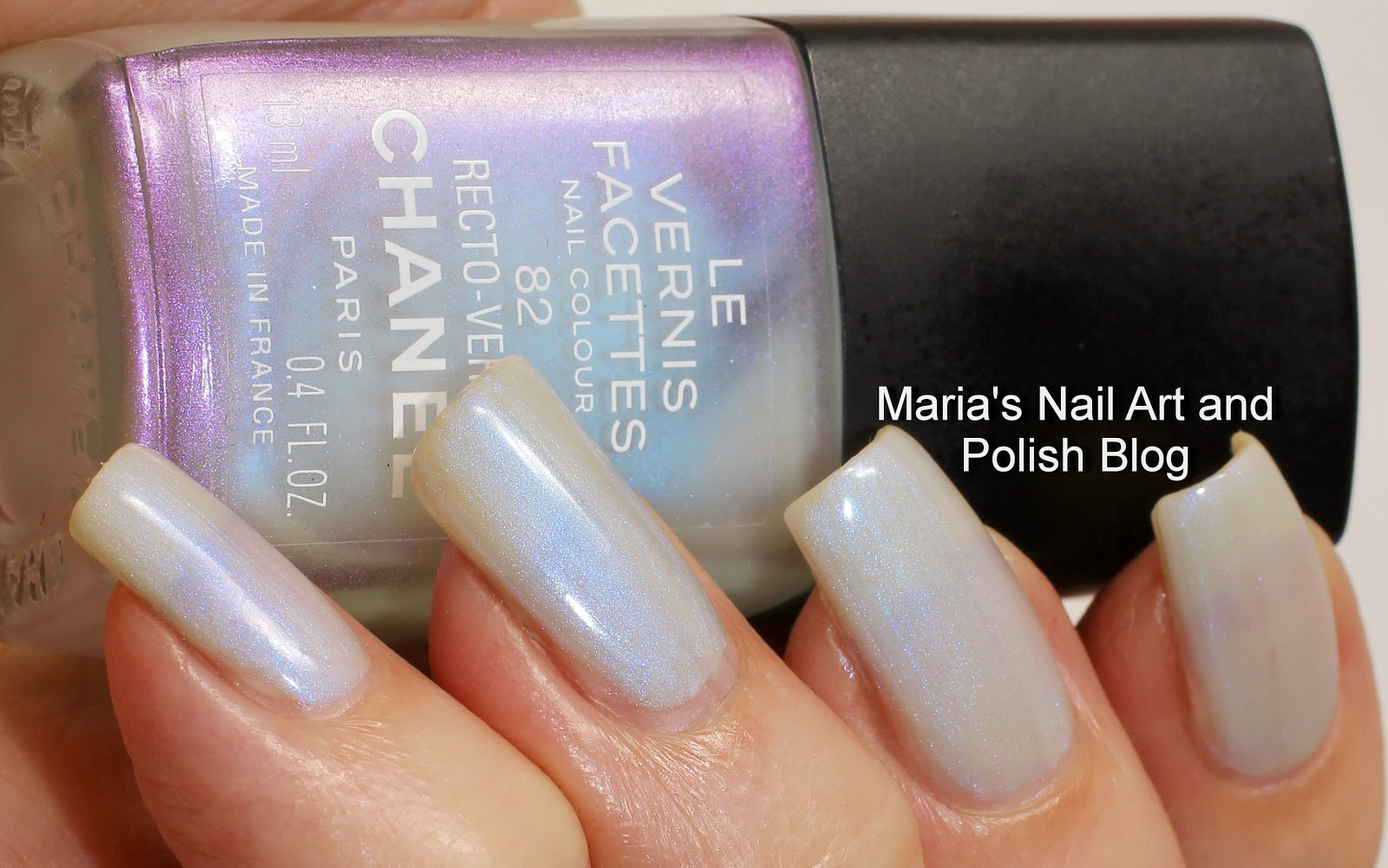 Marias Nail Art and Polish Blog: Chanel Recto-Verso 82, Les Vernis ...
