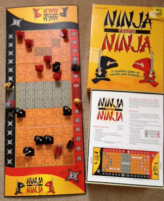 Ninja Versus Ninja game in play