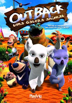 Outback Uma Galera Animal (Dublado) DVDRip RMVB