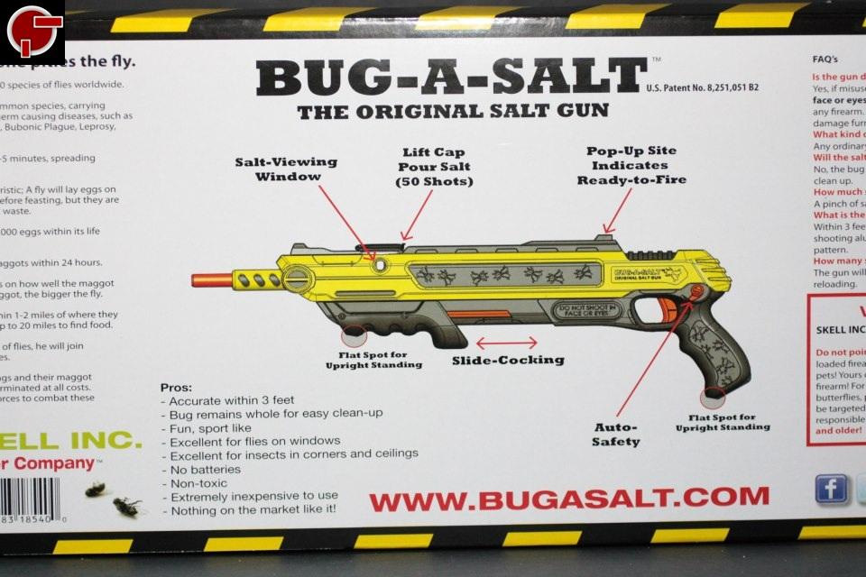 Firestarter S Blog Review Bug A Salt Salt Gun
