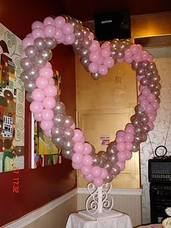 Heart Balloon on Table