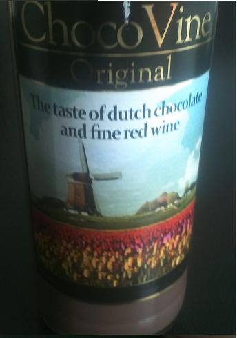 rode wijn met chocolade