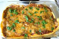 http://foodiefelisha.blogspot.com/2015/07/enchilada-casserole.html