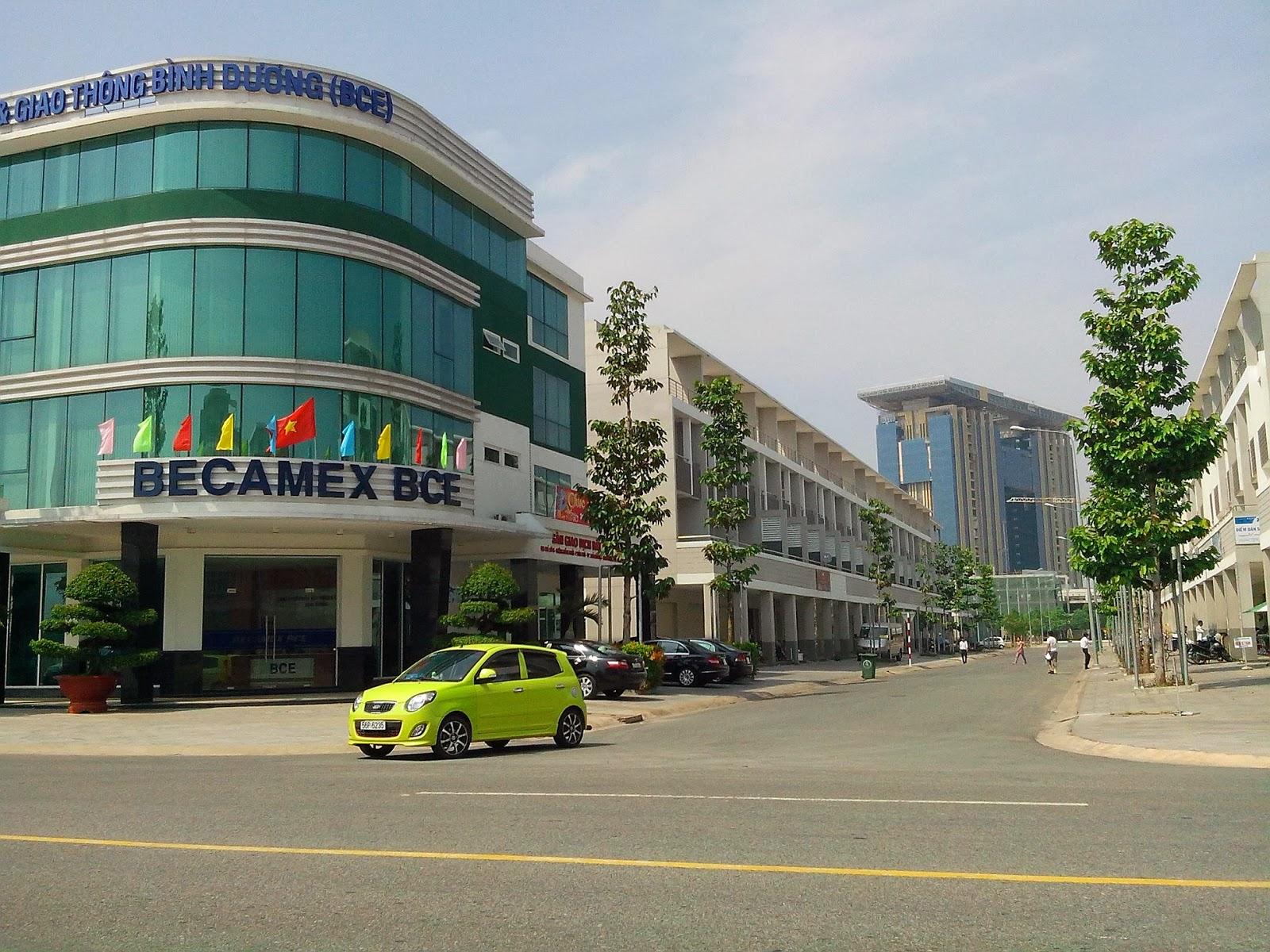 Nhà phố thành phố mới Bình DƯơng, Nha pho TP moi BD