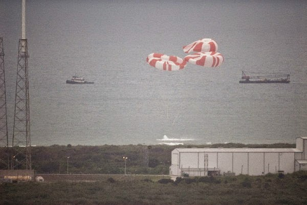 SpaceX Crew Dragon Splash Down