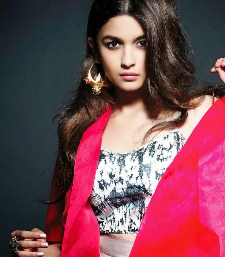 Alia Bhatt - Hot Photoshoot for L'OFFICIEL India Magazine May 2014