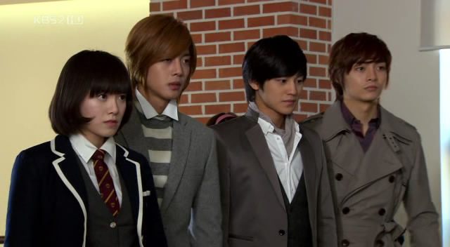 Boys over flowers song woo bin