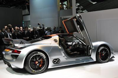 Novo Porsche híbrido