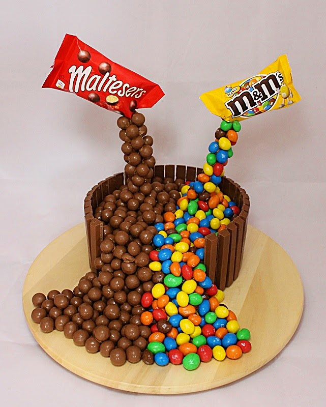 How To Make A Pouring Malteser Cake